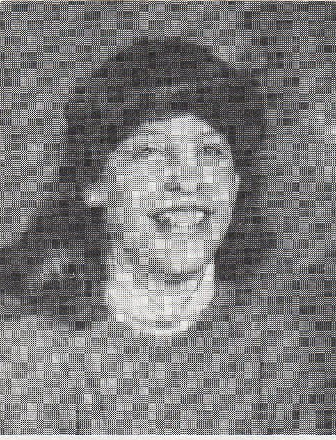 My ninth grade yearbook photo