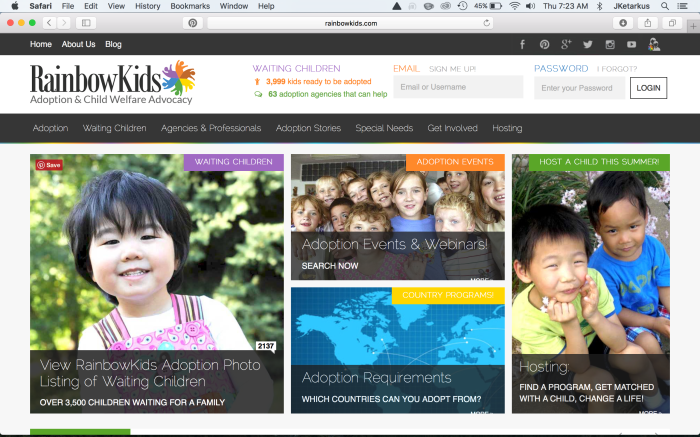 1 RK Site Front Page
